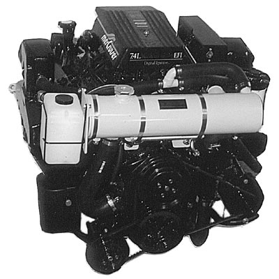 1986-1997 - Front Mounted Fresh Water Full System by Seakamp Engineering, fits 305/350 CID 5.0/5.7L V8 Chevy MerCruiser, Carbureted or Throttle Body Fuel Injected engines